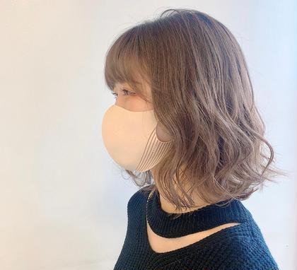 💜透明感のある髪に💜 フルカラー&スタイリング