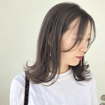 ❤️minimo限定🌈((カット+ケアカラー+クイックトリートメント))