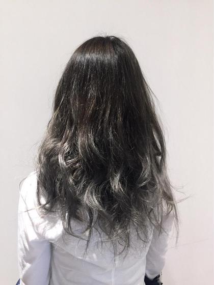 グレージュグラデーション✨ NEO Hair 曳舟店所属・鶴岡大樹のスタイル