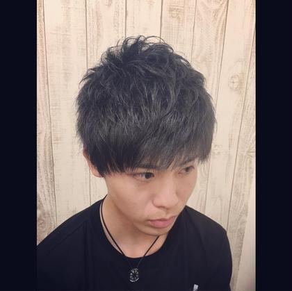 green green hair room所属・藤井義也のスタイル