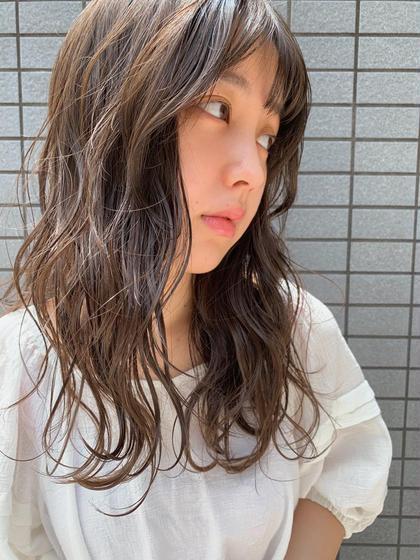 🪐カット+アディクシー《高発色》カラー+【毛髪140%回復】TOKIOトリートメント