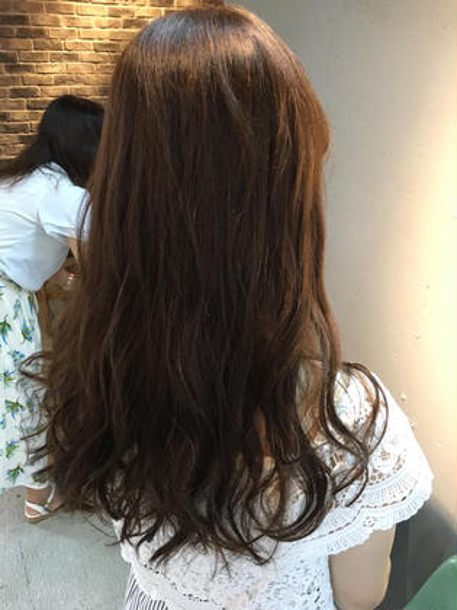 愛されエアリーパーマ✨✨カラーもナチュラルなブラウンで軽さを演出✨ Lietto hair&make所属・中島貴志のスタイル