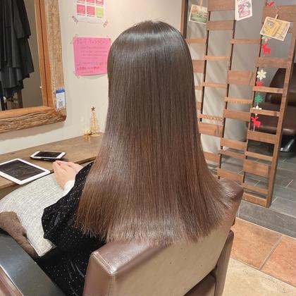 1日1名限定【ロング】艶髪美髪矯正コース(カット無し)