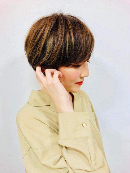 スタイル写真撮影モデル募集!!  白倉ゆきのショートのヘアスタイル
