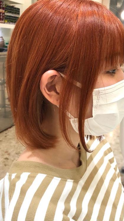 🟪5/6〜13限定🟪艶髪カラー+トリートメント4400円