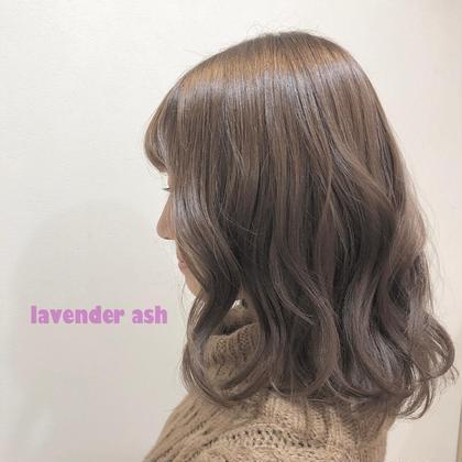 lavender ash yehatov  hair所属・松山実穂のスタイル