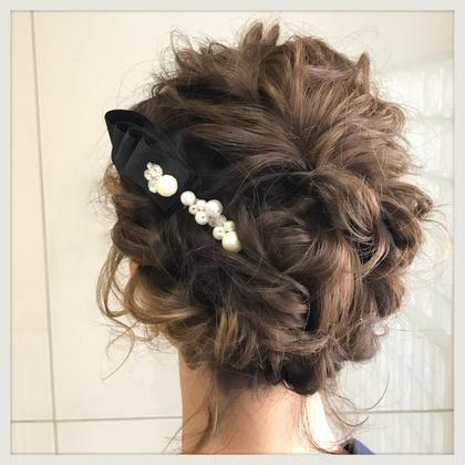 結婚式セット╰(*´︶`*)╯♡ゆるふわでキュートに♡ 今井真実のヘアアレンジ