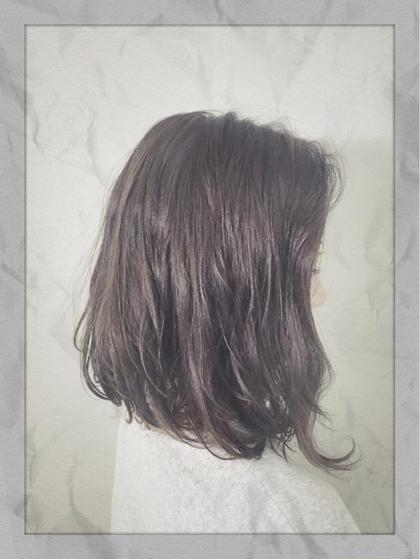 【大人気No. 1‼️✨】外国人風THROWフルカラー&集中ケアトリートメント¥4500