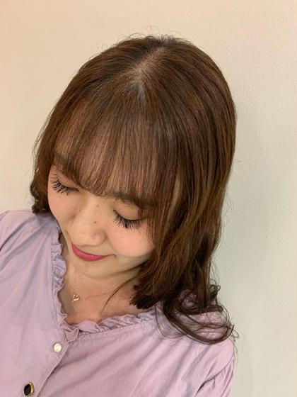 【1番気になる❗️】前髪縮毛 × うる艶トリートメント
