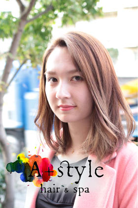 A+style hair&spa所属・西川泰範のスタイル