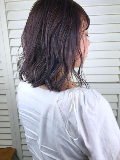その他 ショート パーマ ヘアアレンジ Real salon work💈 【 bob / hilight / purple gray 】 . ハイライトたっぷり もちろん細くが基本☝︎ 前髪までバッチリ入れたから色落ちした時にかなりハイライト感が出るようにしました🌪 . パープルベースのカラーで ハイライトの黄味を抑えてくれる効果があるから色落ちがグレージュ感長持ちカラー🎆 . 秋っぽさを出しつつ淡い色味が好きな方にオススメ⭕️ . #NAKAIstyle #スレンダーハイライト#パープルグレー#ボブ