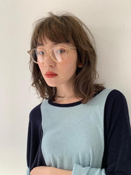 🔥本日限定クーポン🔥前髪カット+透明感艶カラー+キューティクル補修トリートメント¥3980✨✨