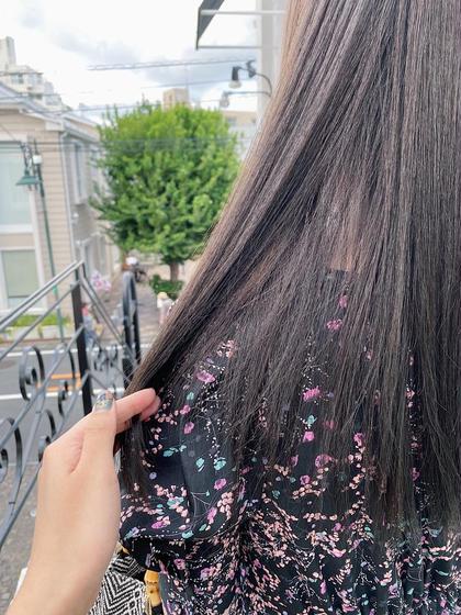 大人気!!ミニモ限定価格✨美髪✨カット+イルミナカラー+tokioトリートメント