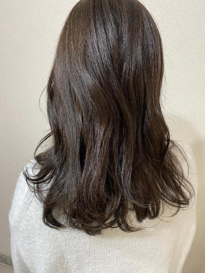 🆕前髪カット+オリジナルカラー