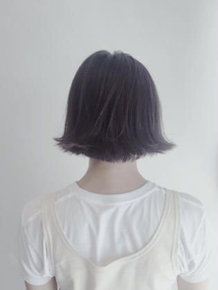 BOB×GRAY_PURPLE THE.KORD所属・.MAYAのスタイル