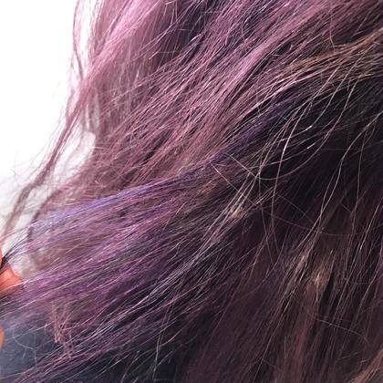 #purple #highlight #lowlight AlicE所属・ミネギシフウカのスタイル