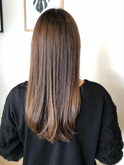 🍀【髪質改善】シルキーストレート