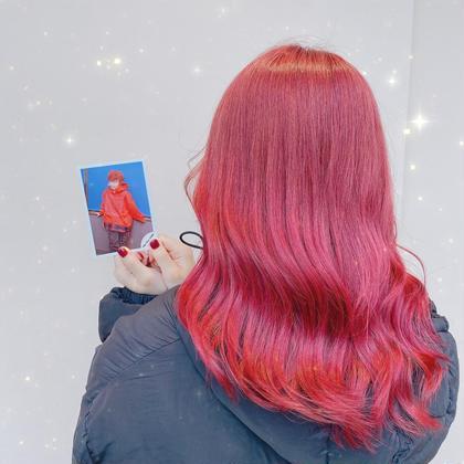 ❣️ジャニヲタ様限定❣️前髪カット+プレミアムフルカラー+コラーゲン+スチームTR🌟ファンサもらおうクーポン💓