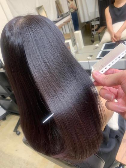 🔶初回~5回目までクーポン🔶🔷透明感カラー🔷+髪質改善8ステップトリートメント✨