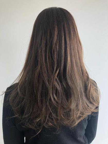 ⭐️髪質改善⭐️ハイライトで柔らかい質感に!(カット込み)