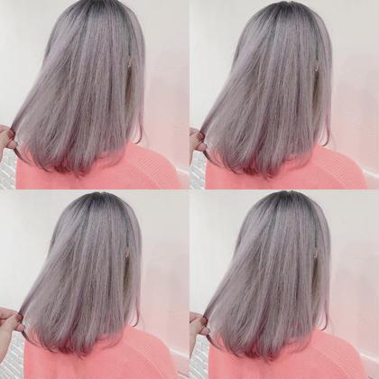 カラー ミディアム lavender White
