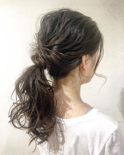 上村優香のロングのヘアスタイル