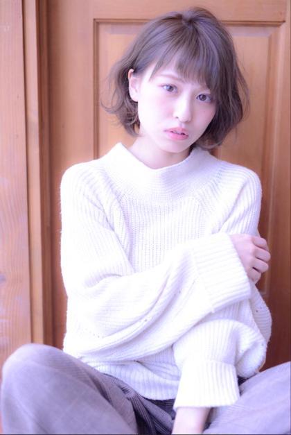 ナチュラルボブ♪ Riso銀座所属・窪田risoのスタイル