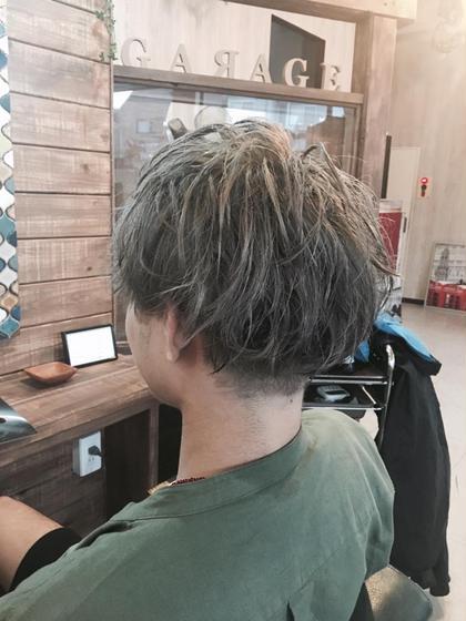 hair design GARAGE所属・荻原進太のスタイル