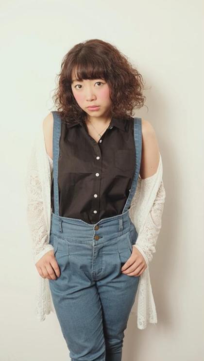 キュート系ハードパーマ FACE。所属・太田エリヤのスタイル