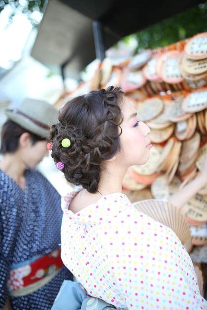 浴衣着付け、浴衣レンタル、ヘアセット 艶照院所属・橘京のスタイル