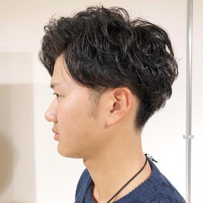 【新規限定】【メンズ限定】カット+パーマ