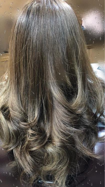 #アオハル ☆髪を傷めない ®️と 髪質改善トリートメント込みの ブリーチ in ヘアカラー☆