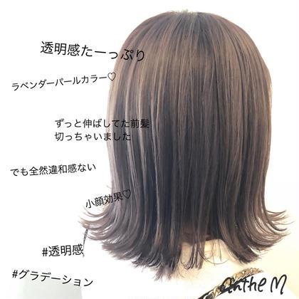 ダブルカラー・髪質改善トリートメント