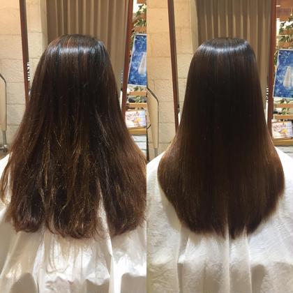 繰り返しのカラーやパーマで傷んだ髪もしっかり潤います💙 ヘアメイクパッセージ相模大野店所属・大竹彩のフォト
