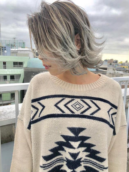 【✨トリプルカラー✨】ブリーチ(2回)×カラー×ダイヤトリートメント