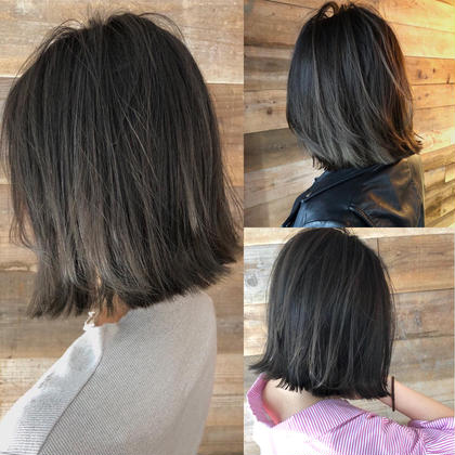 カラー ショート highlight color design  ✂︎ KHANH HOA 表参道  ℡0368045616 渋谷区神宮前4-14-6 101  cut ↠¥5.000 color ↠¥7.000〜 highlight design ↠¥8.000〜 balayage design ↠¥10.000〜 cut×color×treatment ↠¥10.000 cut×highlight×treatment ↠¥11.000 cut×balayage×treatment ↠¥13.000  ↠ https://www.instagram.com/_hide1989/
