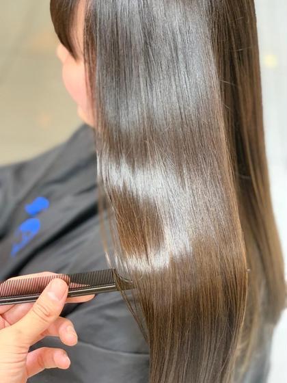 🌸全て解決🌸レディースカット&髪質改善縮毛矯正&オージュアトリートメント