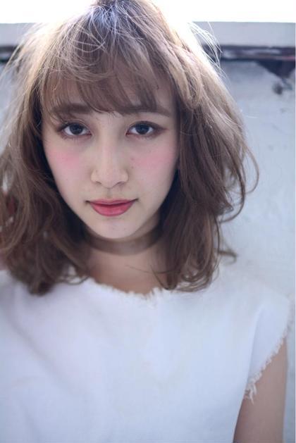 空気感の出るオリジナルカットでふわっとした抜け感のあるスタイルに✨ ミラ バイ グリーン所属・MatsuzakiJunのスタイル