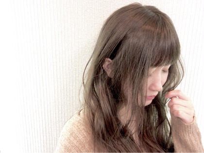⚡️まとめてお悩み解決⚡️前髪ストレート&カラー&オリジナル超音波トリートメント✨