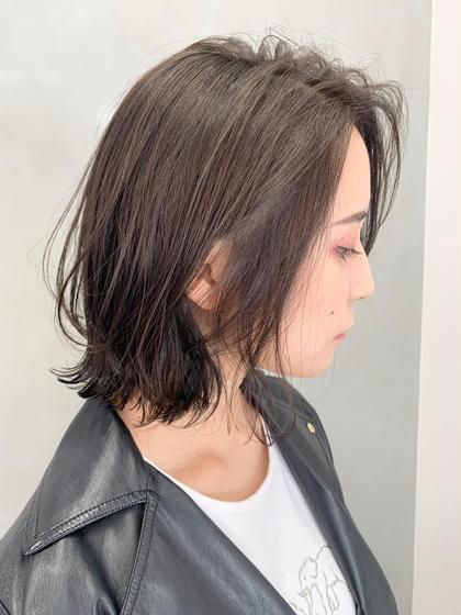 💫🌷1周年記念お得クーポン🌷💫カット+イルミナフルカラー+美髪トリートメント