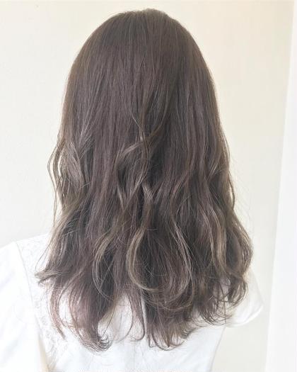 NOブリーチで ベースを活かしたデザインカラー あまり明るくできない人におすすめ ARURU HAIR fan所属・中野有亜のスタイル