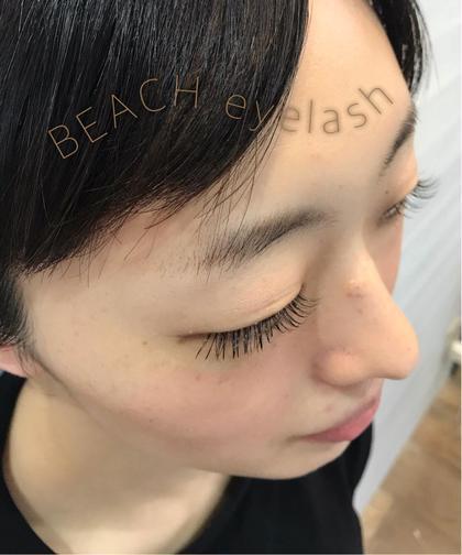 BEACH   eyelash所属のBEACHmanaのマツエクデザイン