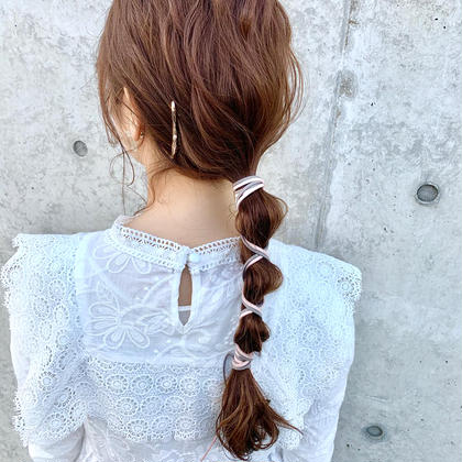 🔸極ツヤ髪🔸グロスカラー * 前髪カットorメンテナンスカット * ミルボントリートメント