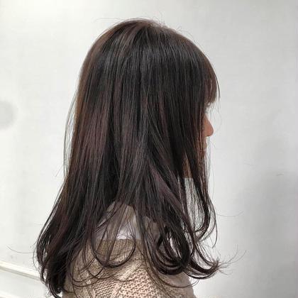 【🌈🌈☁️人気ナンバー1!☁️🌈🌈】カット + ヘアカラー❣️❣️(トリートメント付き🌟)