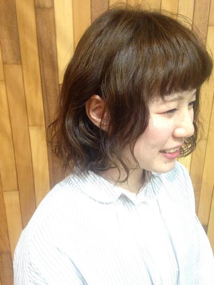 多部未華子ちゃん風、春ボブ♩ hair lounge ungu所属・MatsukiChihiroのスタイル