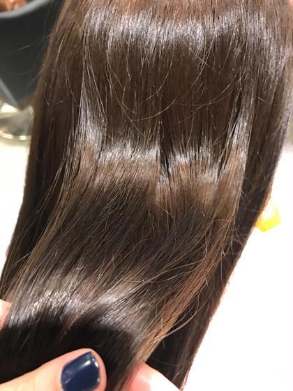 ツヤツヤカラー!!! パサパサな髪の毛も色味をたっぷりいれてあげれば自然と艶が、、、! HairPeople所属・仲座裕菜のスタイル