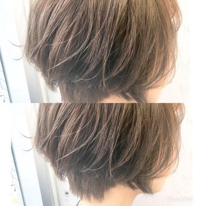 ☝︎☝︎前髪カット➕透明感カラー☝︎➕トリートメント