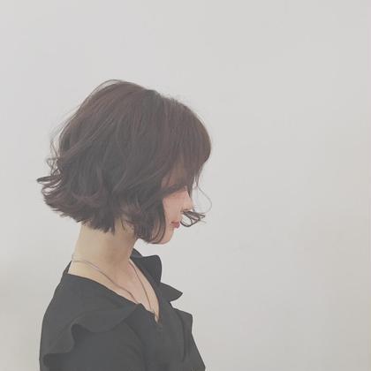 アゴライン  ボブ  カワイイ ☺︎ CLLIQUE    casitahair所属・小池玲加のスタイル