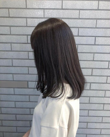 【ツヤ、潤い】カット&コスメ縮毛矯正&2ステップトリートメント