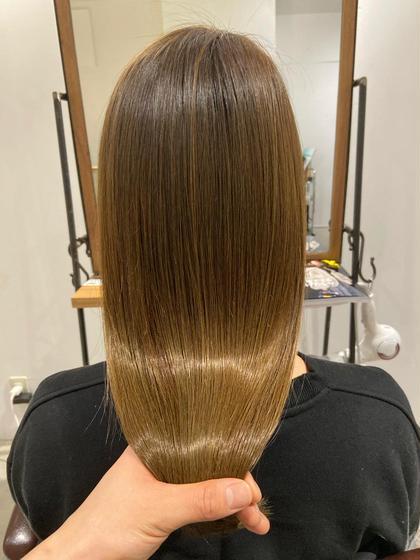 【髪内部に溜まった不純物を取り除く】残留アルカリ除去!酵素ケアトリートメントで健康な髪に◆